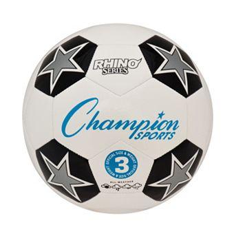 Champion Sports Size 3 Rhino RX Series Soccer Ball