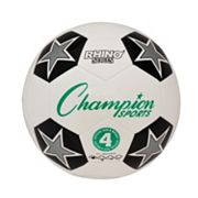 Champion Sports Size 4 Rhino RX Series Soccer Ball