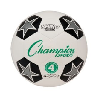 Champion Sports Size 4 Rhino RX Series Soccer Ball