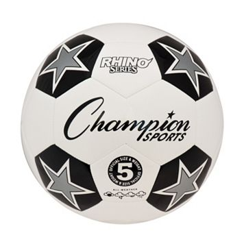 Champion Sports Size 5 Rhino RX Series Soccer Ball