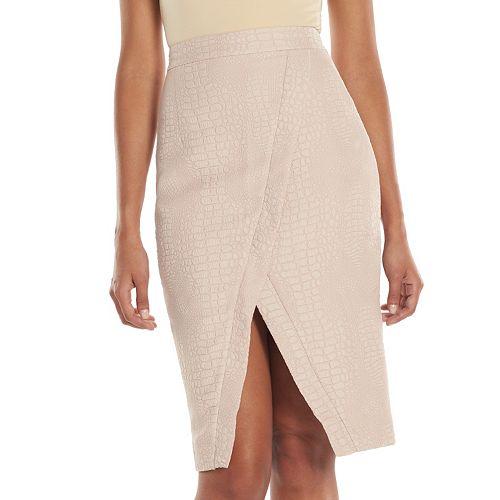 3c0553b81 Women's Jennifer Lopez Snakeskin Pencil Skirt