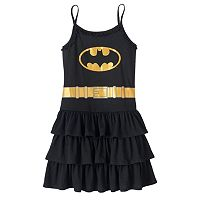 Girls 4-12 DC Comics Batgirl Tiered Nightgown