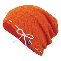 Women's Keds Open-Work Chevron Slouchy Beanie