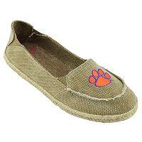 Women's Campus Cruzerz Clemson Tigers Cabo Slip-On Shoes