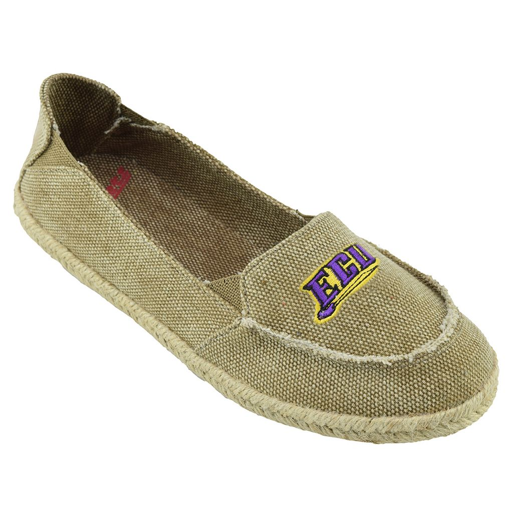 Women's Campus Cruzerz East Carolina Pirates Cabo Slip-On Shoes