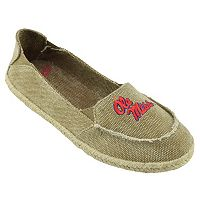 Women's Campus Cruzerz Ole Miss Rebels Cabo Slip-On Shoes