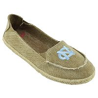 Women's Campus Cruzerz North Carolina Tar Heels Cabo Slip-On Shoes