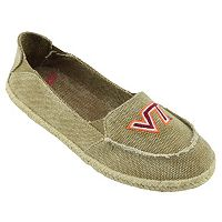 Women's Campus Cruzerz Virginia Tech Hokies Cabo Slip-On Shoes