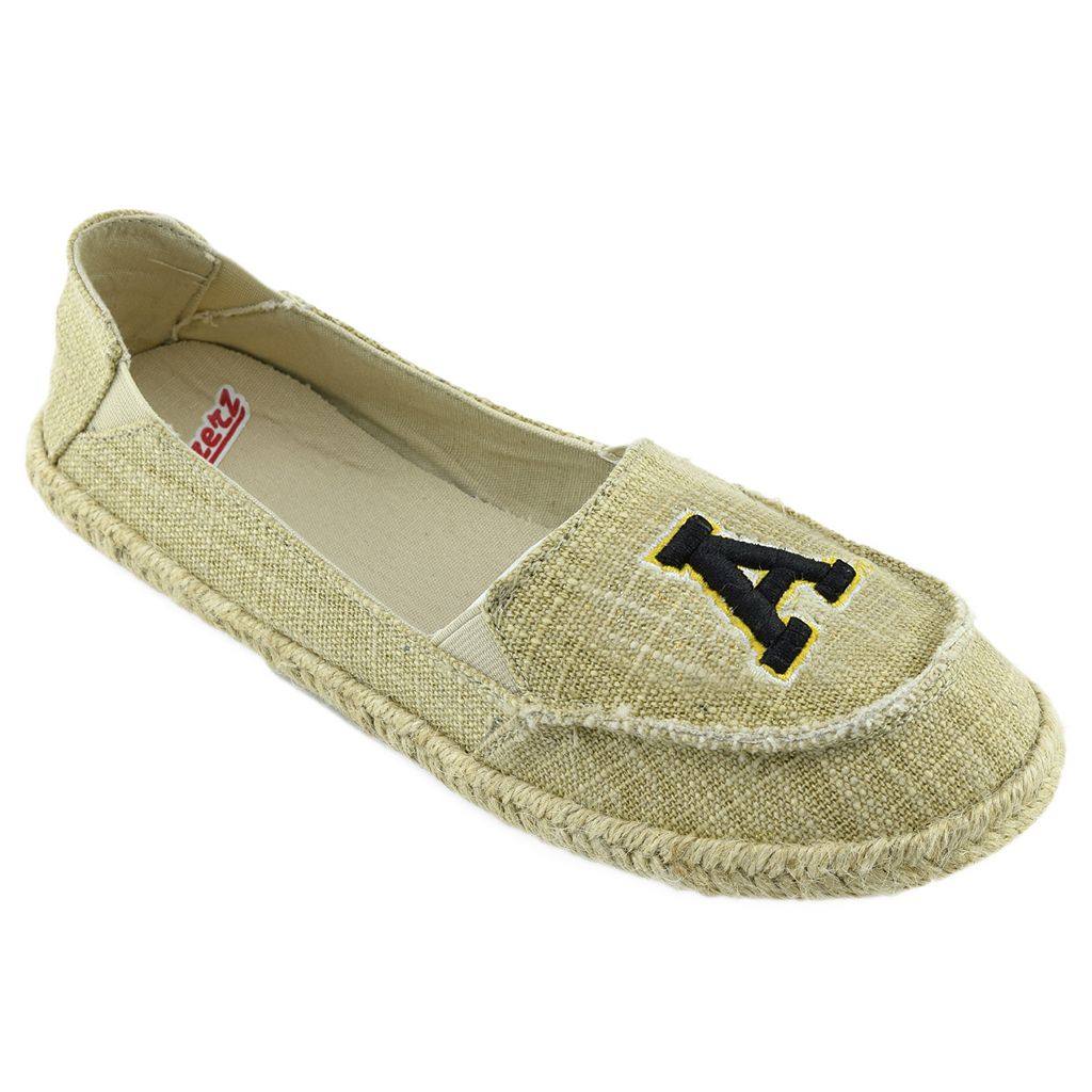Women's Campus Cruzerz Appalachian State Mountaineers Sparkle Cabo Slip-On Shoes