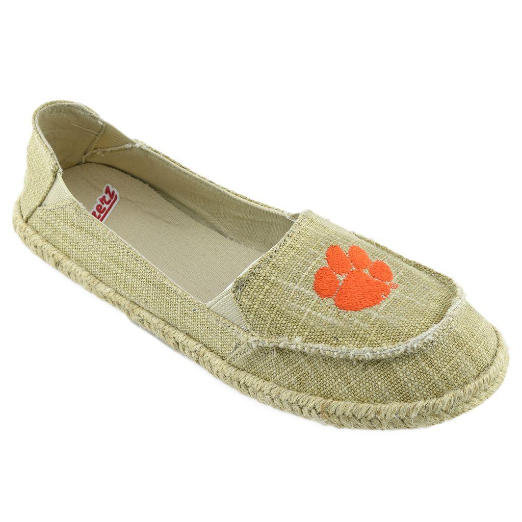 Women's Campus Cruzerz Clemson Tigers Sparkle Cabo Slip-On Shoes