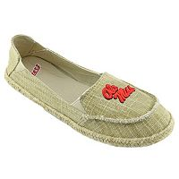 Women's Campus Cruzerz Ole Miss Rebels Sparkle Cabo Slip-On Shoes