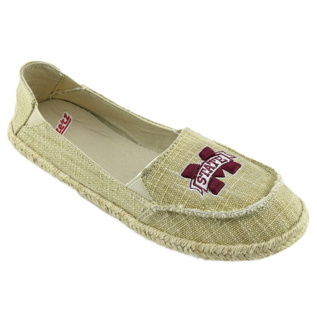 Women's Campus Cruzerz Mississippi State Bulldogs Sparkle Cabo Slip-On Shoes