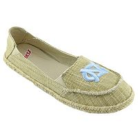 Women's Campus Cruzerz North Carolina Tar Heels Sparkle Cabo Slip-On Shoes