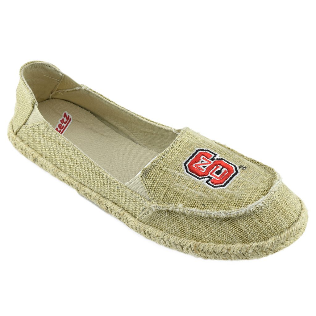 Women's Campus Cruzerz North Carolina State Wolfpack Sparkle Cabo Slip-On Shoes