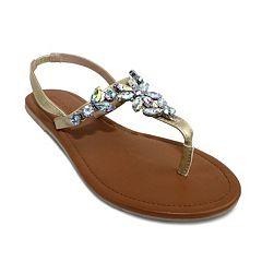 Olivia Miller Augusta Women's Slingback Sandals