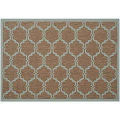 Safavieh Courtyard Crest Trellis Indoor Outdoor Rug