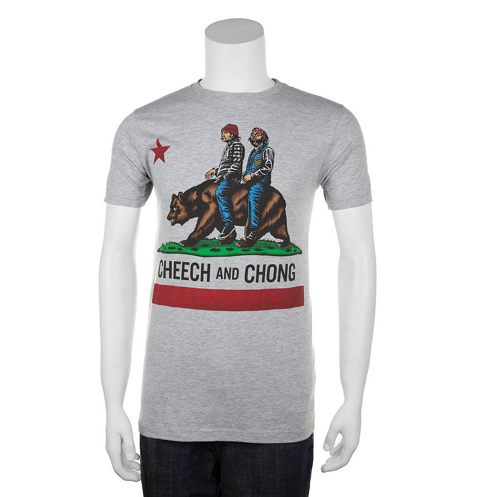 Big & Tall Cheech and Chong California Best Buds Tee