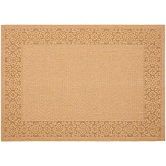 Safavieh Courtyard Regal Border Indoor Outdoor Rug