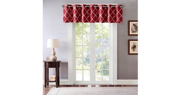 Kohls Wedding Registry Gift Card : Bombay Teramo Embroidered Polyoni Valance - 50 18