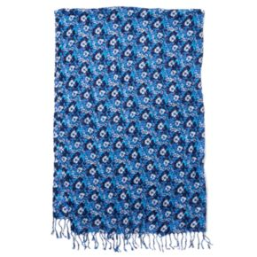 Keds Woven Fringed Oblong Scarf