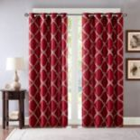 Bombay Teramo Embroidered Polyoni Window Curtain