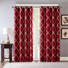 Bombay Teramo Embroidered Polyoni Window Curtain