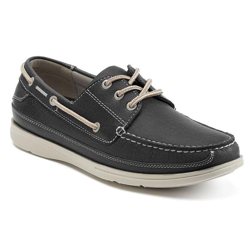 Chaps Portman Men's Leather Boat Shoes