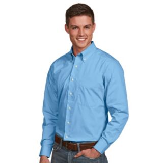 Men's Antigua Dynasty Modern-Fit Solid Button-Down Shirt