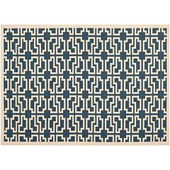 Safavieh Courtyard Lockbox Geometric Indoor Outdoor Rug