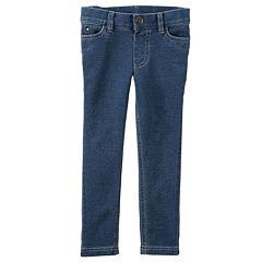 Girls 4-8 Carter's Denim Leggings