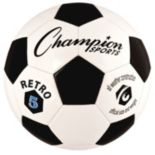 Champion Sports Retro Size 5 All-Weather Soccer Ball