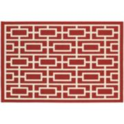StyleHaven Maritime Blocks & Lines Indoor Outdoor Rug