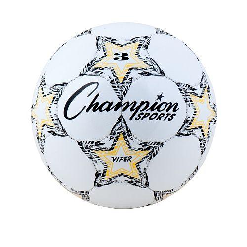 Champion Sports Size 3 Viper Soccer Ball