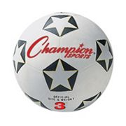 Youth Champion Sports Star Rubber Cover Size 3 Soccer Ball