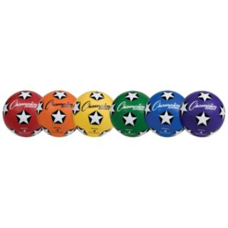 Youth Champion Sports Rubber Cover Size 4 Soccer Ball Set