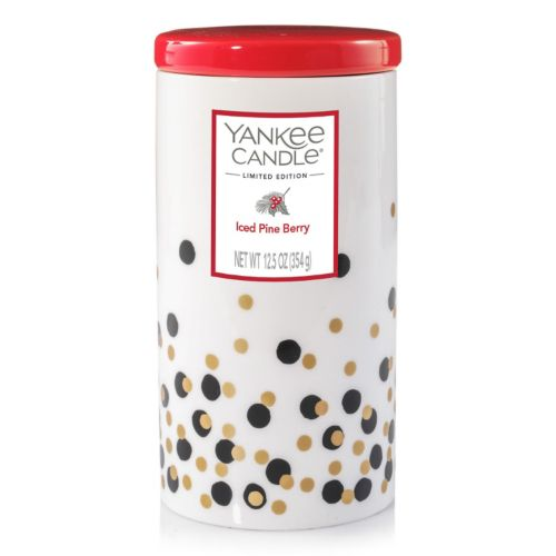 Yankee Candle Iced Pine Berry 12.5-oz. Ceramic Jar Candle