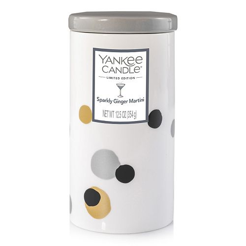 Yankee Candle Sparkly Ginger Martini 12.5-oz. Ceramic Jar Candle