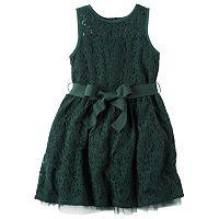 Toddler Girl Carter's Green Lace Dress