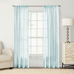 SONOMA Goods for Life™ 1-Panel Maison Windowpane Sheer Window Curtain