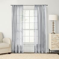 SONOMA Goods for Life™ Maison Windowpane Sheer Curtain