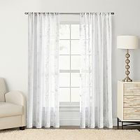 SONOMA Goods for Life™ Chadwick Embroidered Sheer Window Curtain
