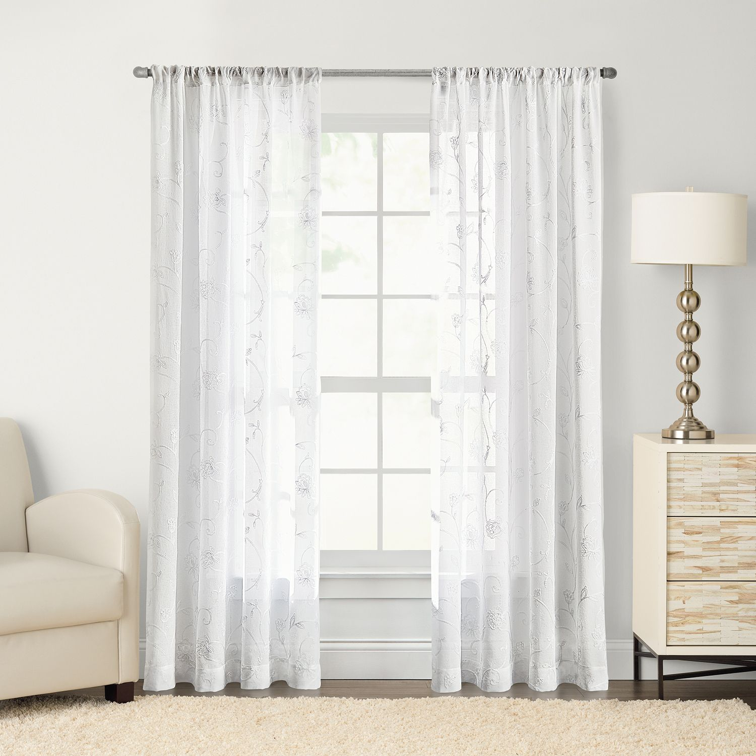 Kohls Sheer Curtains