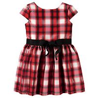 Toddler Girl Carter's Plaid Dress