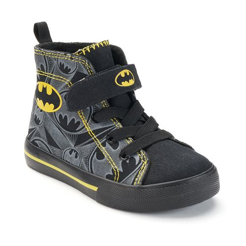 af3291487d86 DC Comics Batman Toddler Boys  High-Top Sneakers