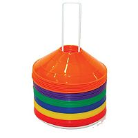 Champion Sports 48-Pc. Multicolor Saucer Field Cone Set