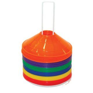 Champion Sports 48-Pc. Multicolor Saucer Field Cone Set