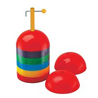 Champion Sports 36 pc Multicolor Rigid Dome Cone Set