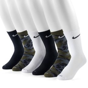 Men's Nike 6-pack Dri-FIT Performance Crew Socks