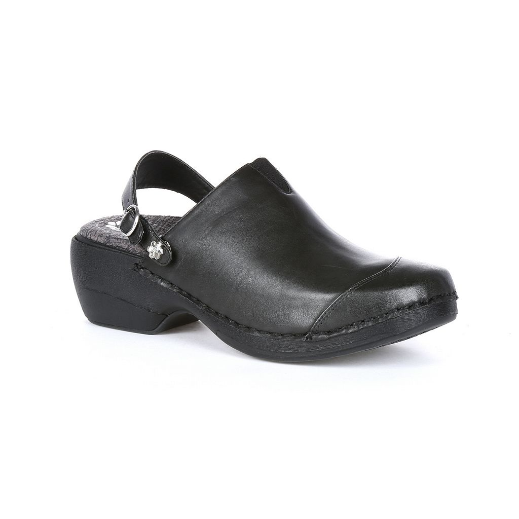 Rocky 4EurSole Inspire Me Women's Leather 3-in-1 Clogs