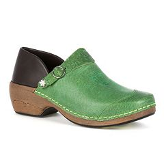 Rocky 4EurSole Inspire Me Women's Western Leather 3-in-1 Clogs